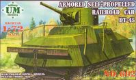 Armoured Self Propelled Railroad Car DT-45