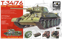 Soviet T-34/76 model 1942 (factory 112) in Polish Service with full interior kit - Image 1