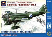 "Bristol ""Blenheim"" Mk.I British light bomber, the Finnish Air Force - Image 1"