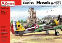 Curtiss Hawk H-75C1 Over Africa