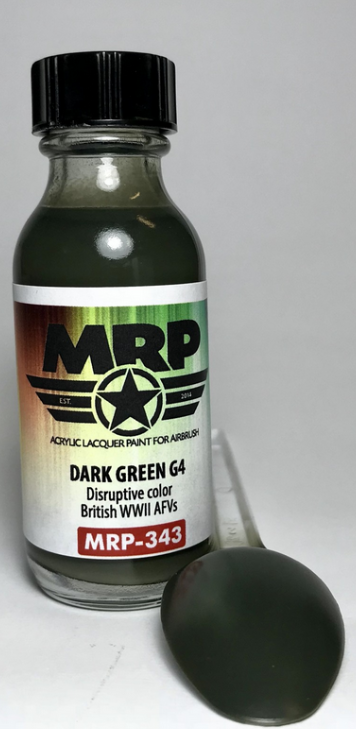 MRP-343 Dark Green G4  (British WWII AFV) - Image 1