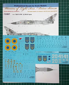 Sukhoi  Su-24M, Ukranian Air Forces, digital camouflage - Image 1