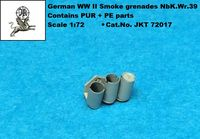 German WWII Smoke grenade discharger (designed to be used with AFV models kits) - Image 1