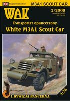 White M3A1 Scout Car - Image 1