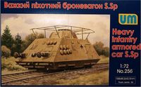 Heavy Infantry Armored Car S.Sp (Schinen-Sparwagen)