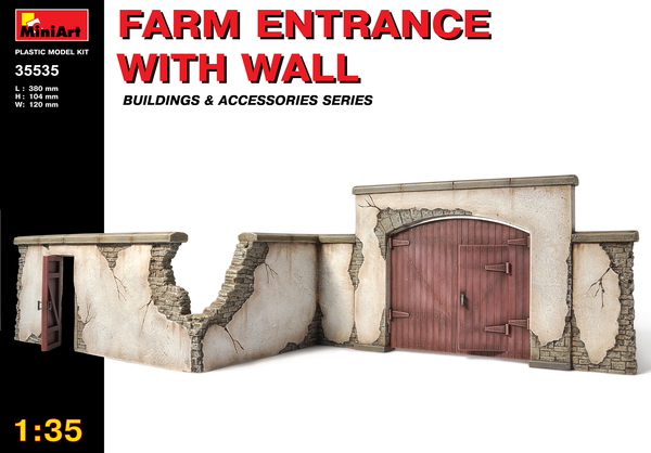 FARM ENTRANCE WITH WALL - Image 1