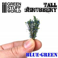 Tall Shrubbery - Blue Green - Image 1