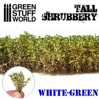 Tall Shrubbery - White Green - Image 1