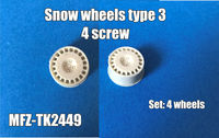 Snow wheels type 3, 4 screw