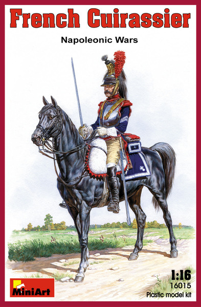 French Cuirassier Napoleonic Wars - Image 1