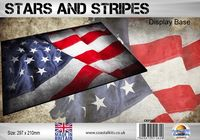 Stars and Stripes Flag 297 x 210mm - Image 1