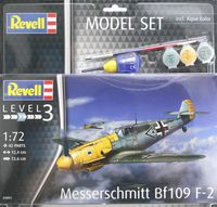 Messerschmitt Bf109 F-2 Model Set - Image 1