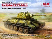 Pz.Kpfw. T-34-747(r), WWII German Medium - Image 1