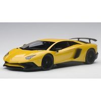 Lamborghini Aventador LP750-4 SV without SV logo 2015 (new giallo orion/metallic yellow) (composite modelfull openings)