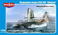 American Nuclear powered Submarine SSN-585 Skijack Class