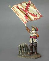 Officer With Banner   Lutzen 1632