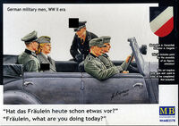 German Military Men 1939-1945 (5 figures in set) ) - Image 1