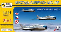 MiG-19P Interceptor Flights (3in1)