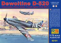 Dewoitine D-520 Free France