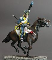 Trooper Of  7th Polish Light Horse Lancers    Albuhera 1811