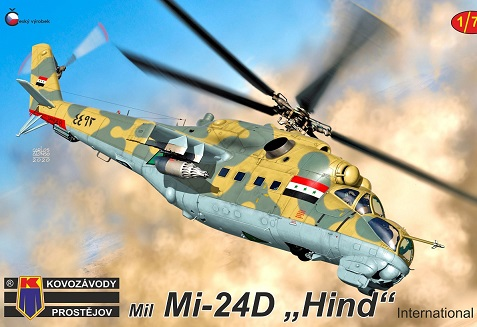"Mi-24D Hind ""International"" - Image 1"