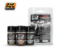 AK 2030 Aircraft Landing Gear Weathering Set