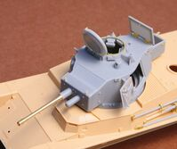 Toldi II (B40) corrected turret (with metal gun barrel) - Image 1