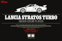 Lancia Stratos Turbo Silver Color Plated - Image 1
