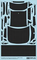 Toyota 86 Dress-Up Decal Set (Carbon Pattern) - Image 1