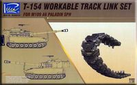 T-154 Workable track link set for M109 A6 PALADIN SPH