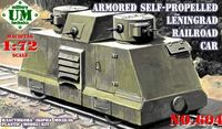 Armoured Self-propelled Leningrad Railroad Car