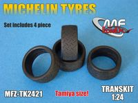 Michelin tyres 4 pieces