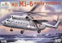 Mil Mi-6 Soviet Heavy helicopter (early version)