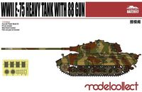 Germany WWII E-75 Heavy Tank with 88 gun - Image 1