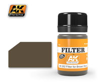 AK 262 FILTER FOR BROWN WOOD,35ML
