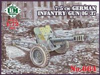 7,5cm German Infantry gun IG 37