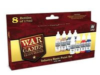 70156 War Games Paint Series - Infantry Basic Paint Set