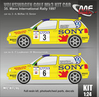 Volkswagen Golf MK3 Kit Car Mcrae, Laukkanen - 35. Manx International Rally 1997