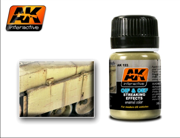 AK 123 OIF & OEF - US VEHICLES STREAKING EFFECTS - Image 1