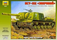 ISU-152 Soviet self-propelled gun - Image 1