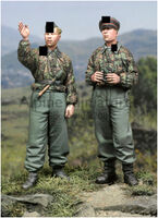 SS Panzer Recon Crew (2 figs)