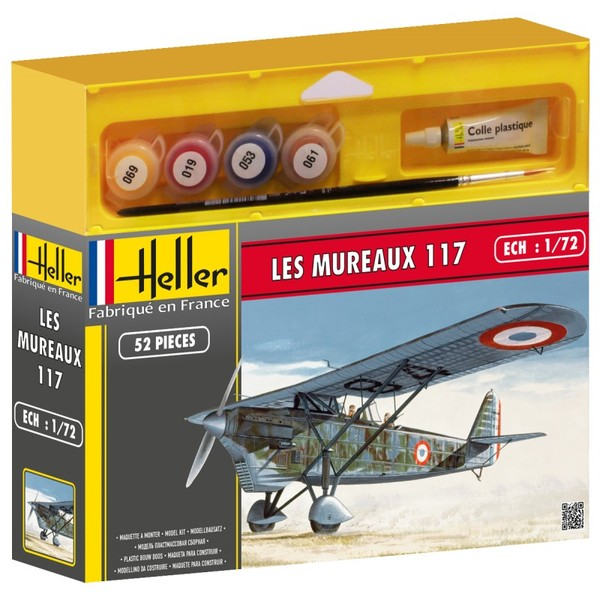 French fighter Les Mureaux 117 model set - Image 1