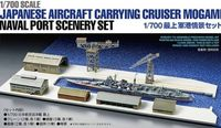 Japanese Aircraft Carrying Cruiser Mogami Naval Port Scenery Set - Image 1