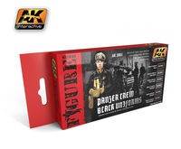 AK 3001 PANZER CREW BLACK UNIFORMS SET