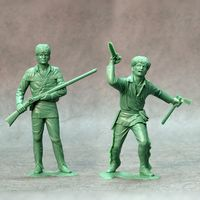 American scouts, set of two figures #1