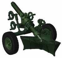 MO-120-RT-61 -120 mm rifled towed mortar Model F1 / Mortier 120mm Rayé Tracté Modele F1