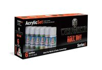 446AP World of Tanks Roll Out Acrylic Set Series 1 Set