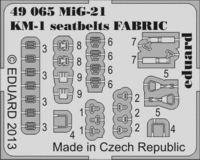 MiG-21 KM-1 seatbelts FABRIC - Image 1