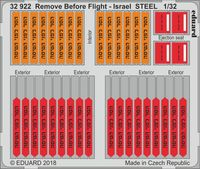 Remove Before Flight - Israel STEEL - Image 1