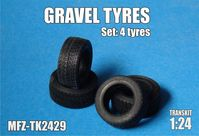 Gravel tyres 4 pieces